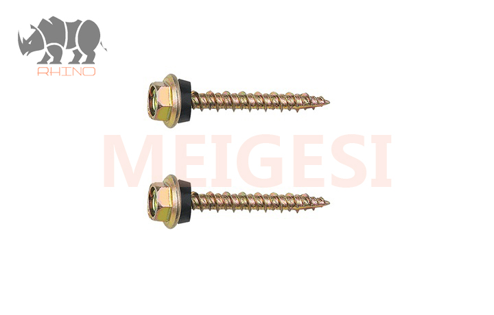 Hex Flanged Head Self Tapping Screw High-Low Thread, Type 17